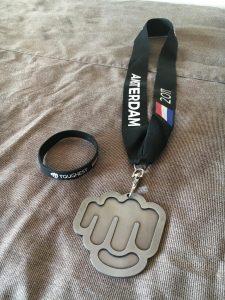 Toughest Amsterdam 2017 Medaille