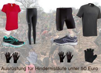 Ausrüstung für Hindernisläufe unter 50 €