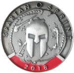 Medaille Spartan Race SPRINT 2018
