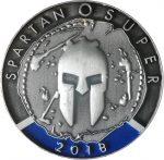 Medaille Spartan Race SUPER 2018