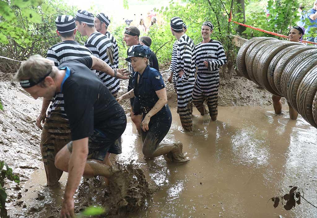 Great Barrier Run Hindernis 2
