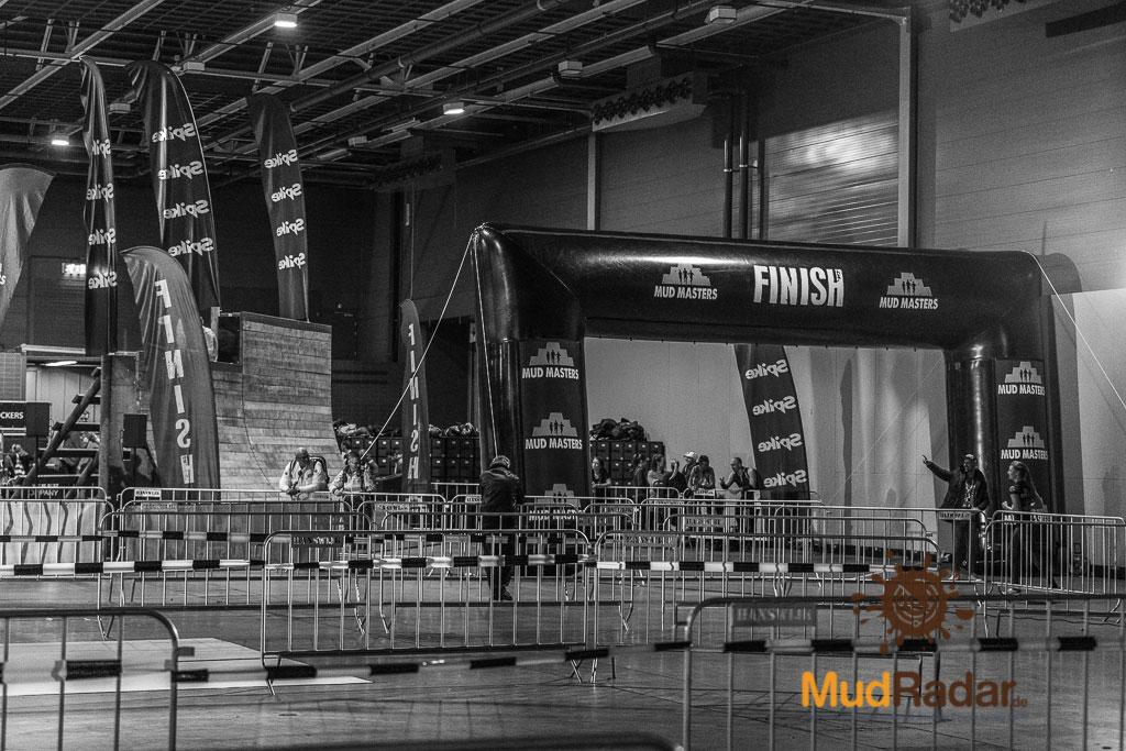 Mud Masters Indoor Jaarbeurs Utrecht 2019 - Finishbereich