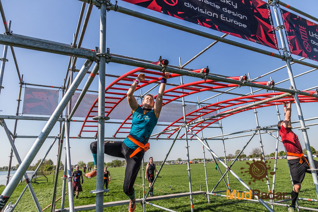 Ultimate Warrior Run 2019 - hangeln