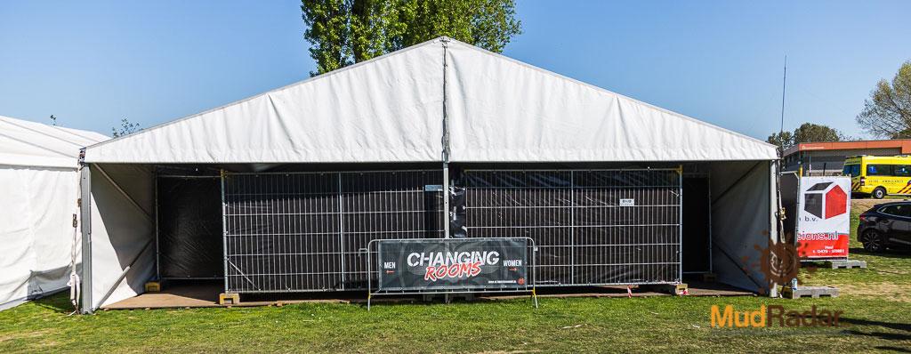 Ultimate Warrior Run Roermond 2019 - Umkleidebereich & Duschen ..