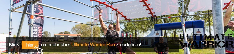 Ultimate Warrior Run - Header