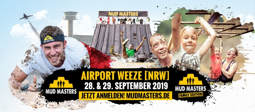 Mud Masters Airport Weeze September 2019