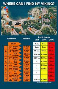 Besucherplan Strong Viking Water Edition Nijmegen 2019