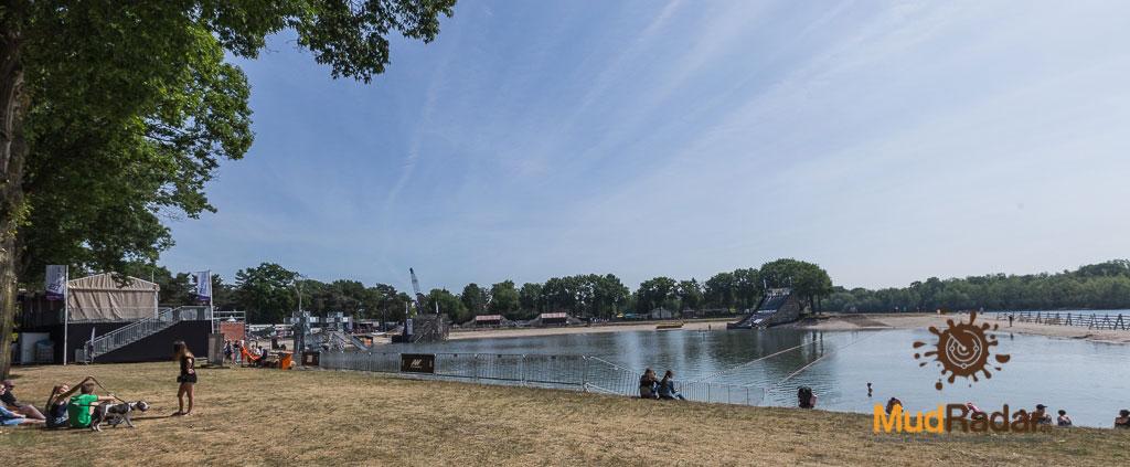 Breakout Run 2019 - Eventplatz vom Wasser