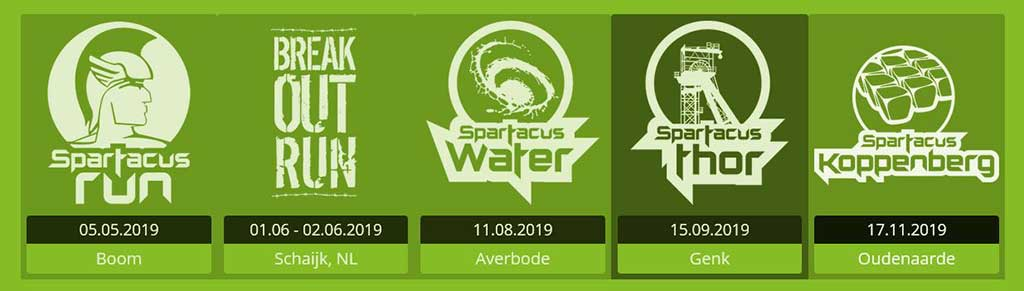 Breakout Run - Spartacus OCR Serie 2019