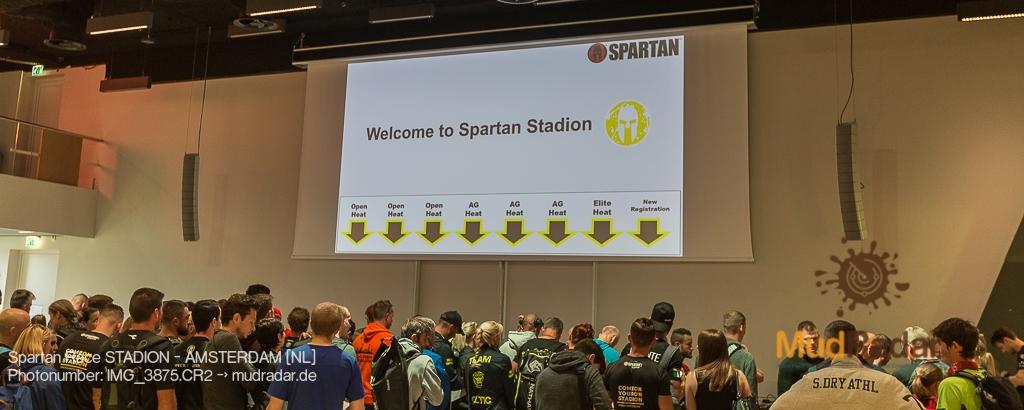 Spartan Race Stadion Amsterdam 2019 - Willkommen