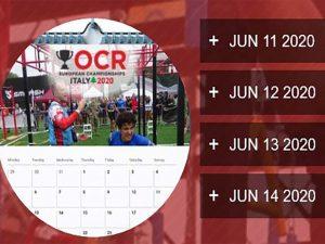 11.-14.06.2020 OCR European Championship 2020 Italien