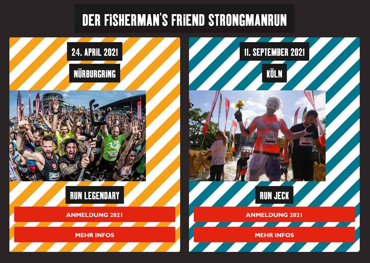 StrongmanRun Events 2021