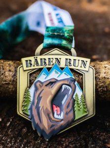 Bären Run Medaille klein